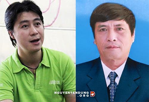 Phan Sào Nam và ông Nguyễn Thanh Hóa
