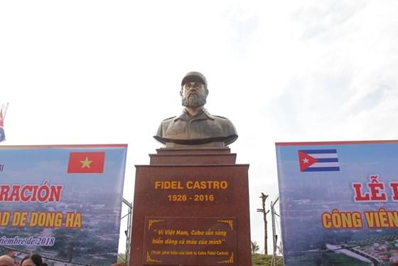 Khánh thành công viên Fidel Castro tại Quảng Trị