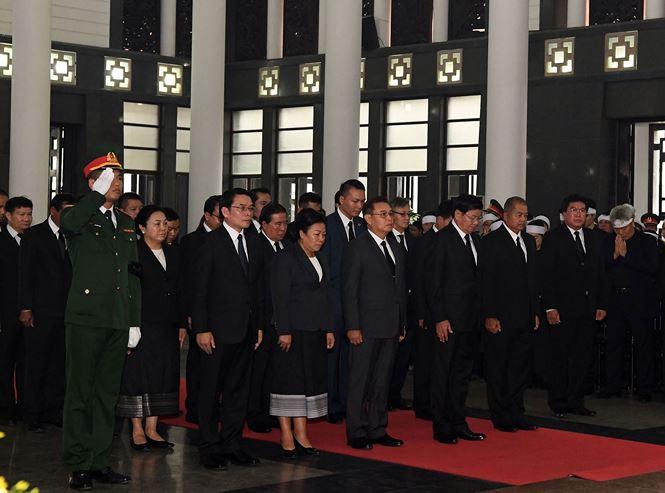 Các đoàn nước ngoài đến viếng nguyên Tổng Bí thư Đỗ Mười - ảnh 3
