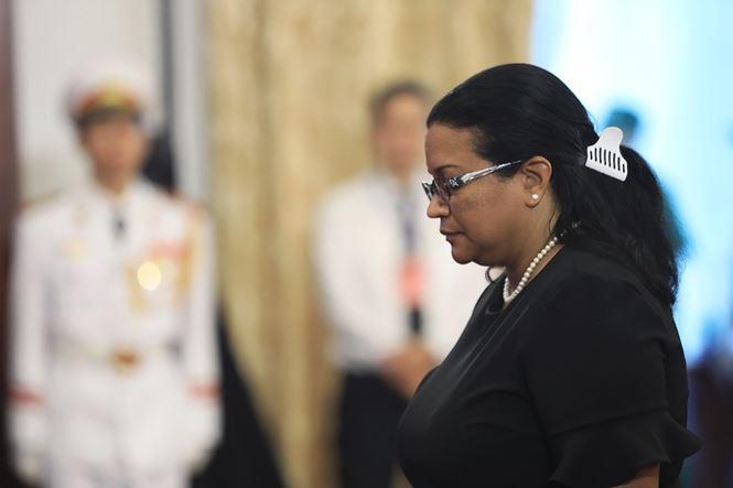 Các đoàn nước ngoài đến viếng nguyên Tổng Bí thư Đỗ Mười - ảnh 18