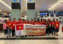 Đoàn học sinh Hà Nội giành 4 HCV tại Cuộc thi Khoa học quốc tế – ISC