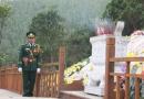 Bộ đội bàn giao lại việc quản lý khu mộ Đại tướng Võ Nguyên Giáp
