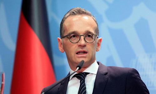 Ngoại trưởng Đức Heiko Maas. Ảnh: AP.