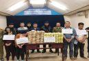 Cảnh sát Việt Nam và Lào mật phục bắt 4 người chuyển 60kg ma túy, 240.000 viên hồng phiến