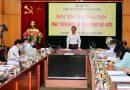 Thứ trưởng Bộ Nội vụ Trần Anh Tuấn phát biểu tại hội thảo.